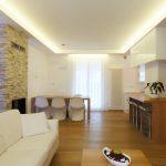 Illuminazione led cucina appartamento brescia