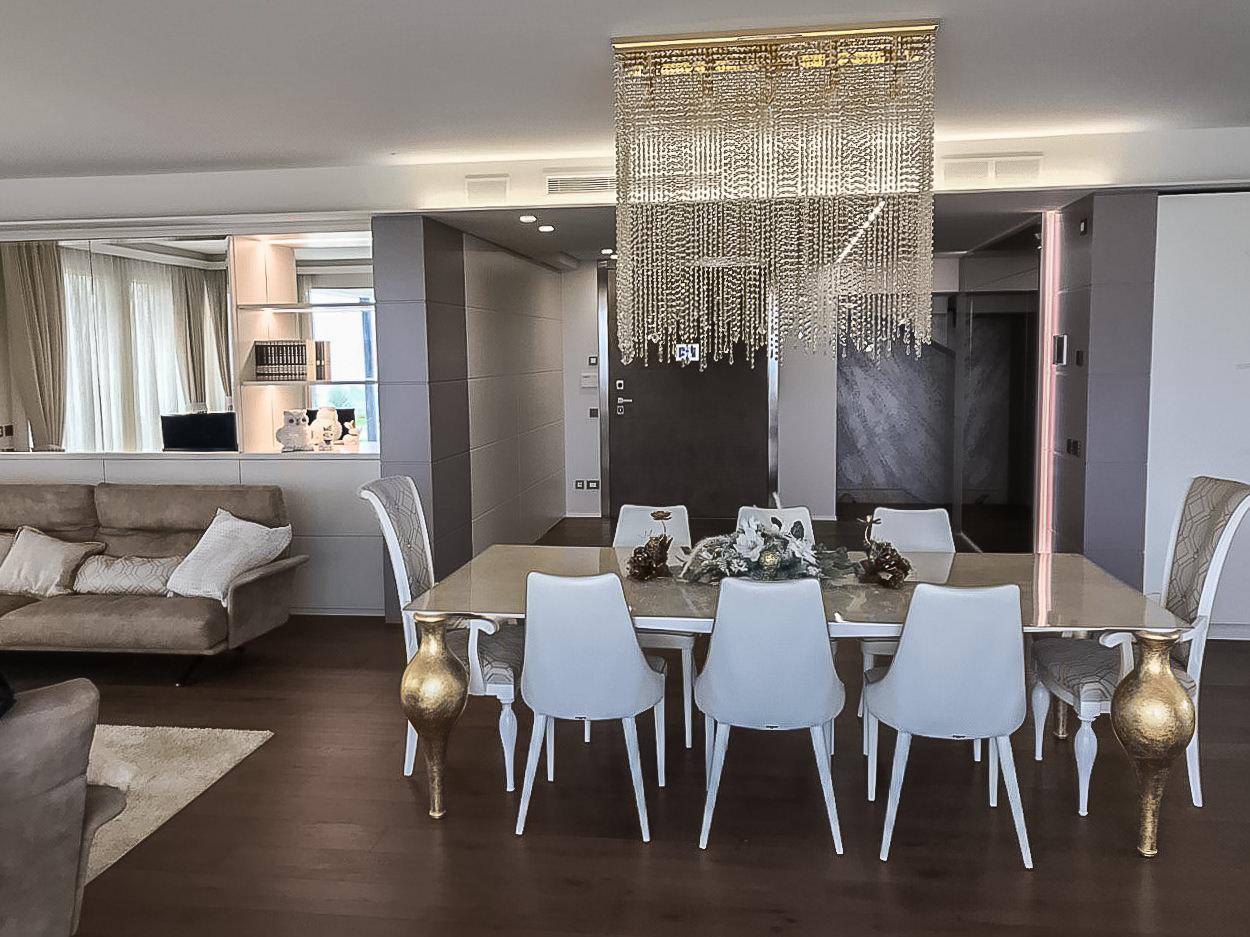 Villa Lago Di Garda Interior Design Sala Da Pranzo Levarredi